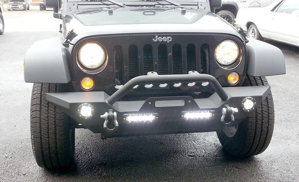 Trailfx front bumper