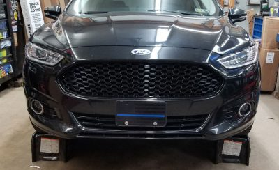 Blacked out grill