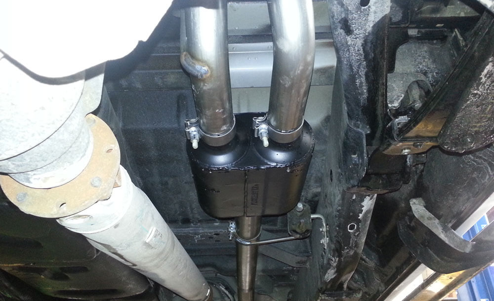 Flowmaster dual exhaust system
