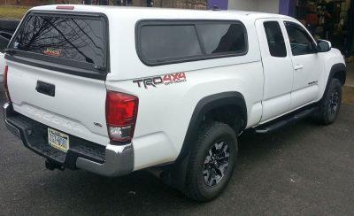 Jeraco fiberglass truck cap
