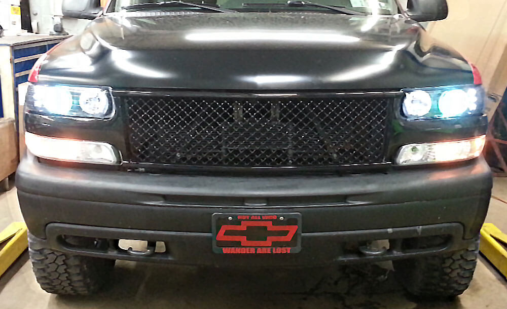 Anzo headlight assemblies and HID headlights