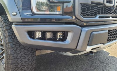 "Rigid ""Raptor Lights"" fog light kit"
