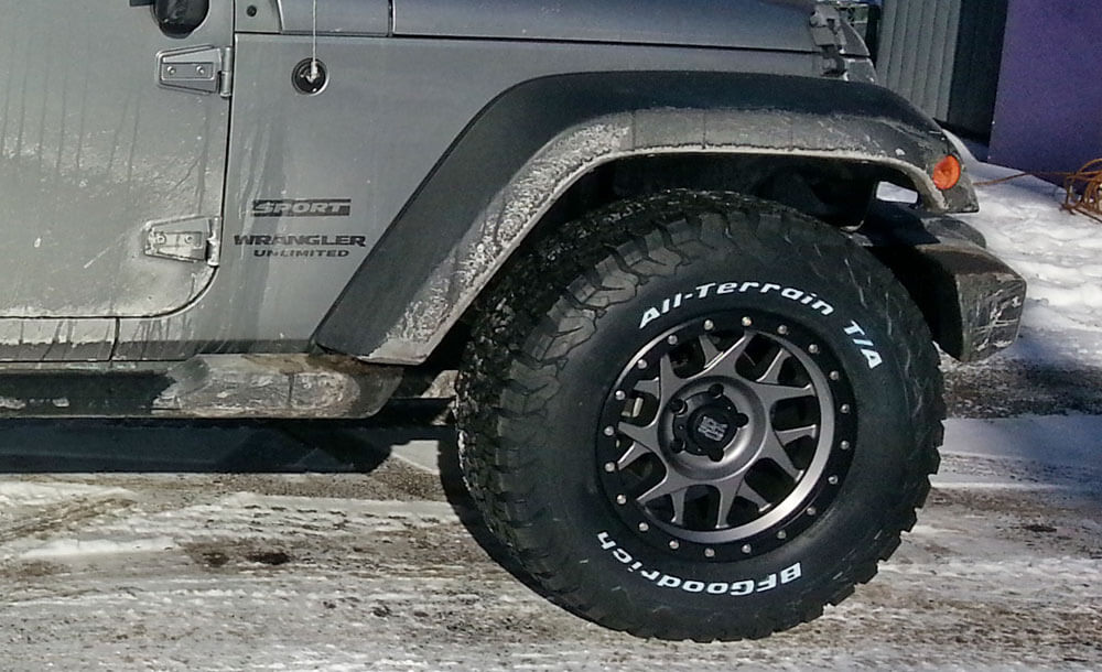 XD wheels BFGoodrich tires