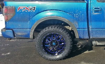 """XD wheels and 33"""" Toyo open country MT tires"""