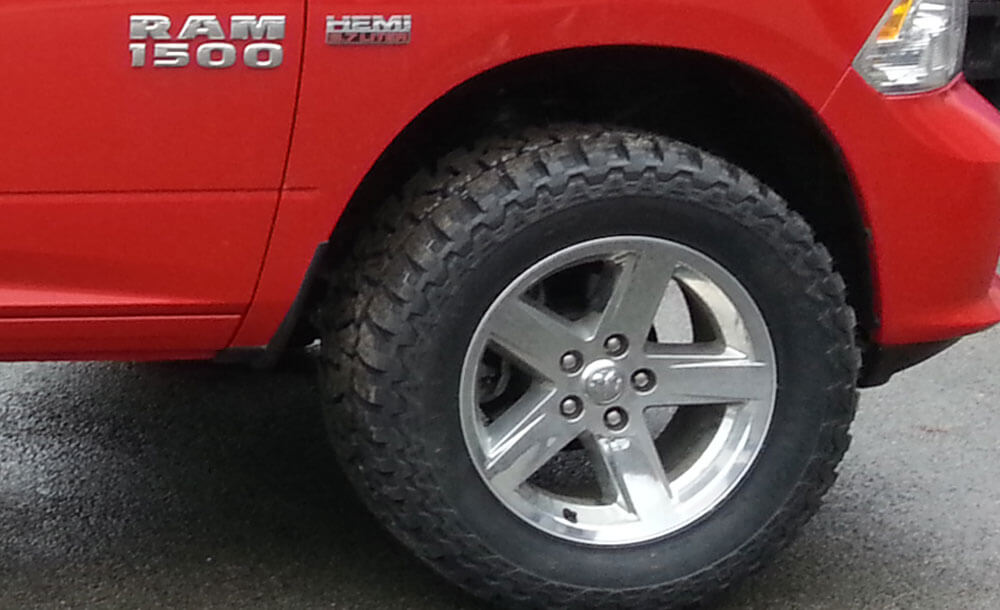 "35"" Mickey Thompson tires"