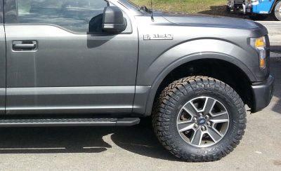 275/70R18 Nitto Ridge Grappler tires