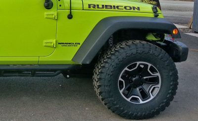"""Quadratec wheels and 35"""" Toyo open country RT tires"""