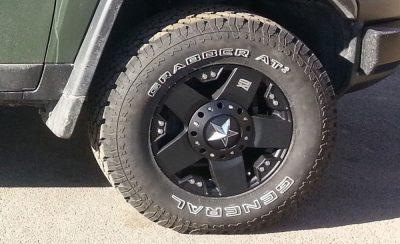 Rock Star wheels