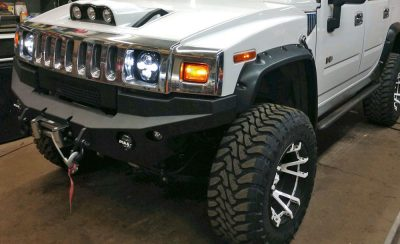 Rockstar 3 wheels with white split spokes | Toyo Open Country m/t tires